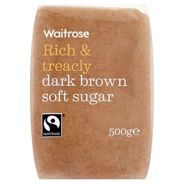 Waitrose Dark Brown Soft Sugar   Ocado