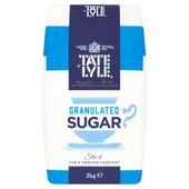 Tate & Lyle Fairtrade Granulated Sugar