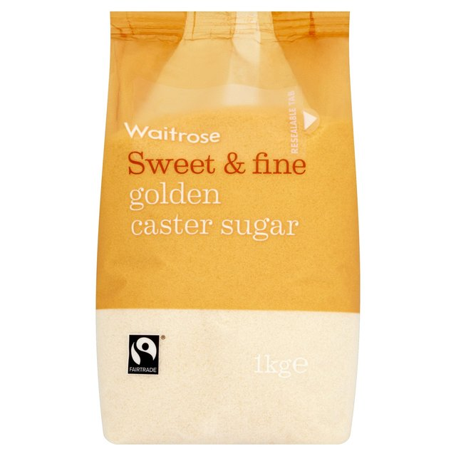 Waitrose Golden Caster Sugar
