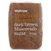 Dark Brown Muscovado Sugar Waitrose