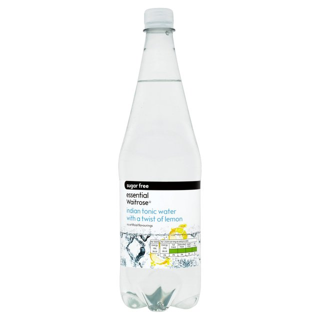 Essential Waitrose Sugar Free Indian Tonic Water & Lemon