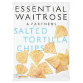 Salted Tortilla Chips essential Waitrose