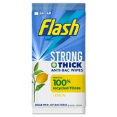 Flash Strong Wipes Antibacterial