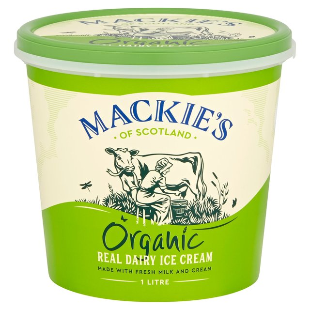 Mackie's Luxury Organic Dairy Ice Cream