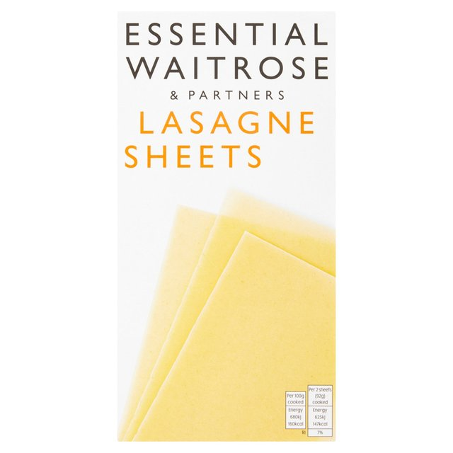 Essential Waitrose Lasagne Sheets