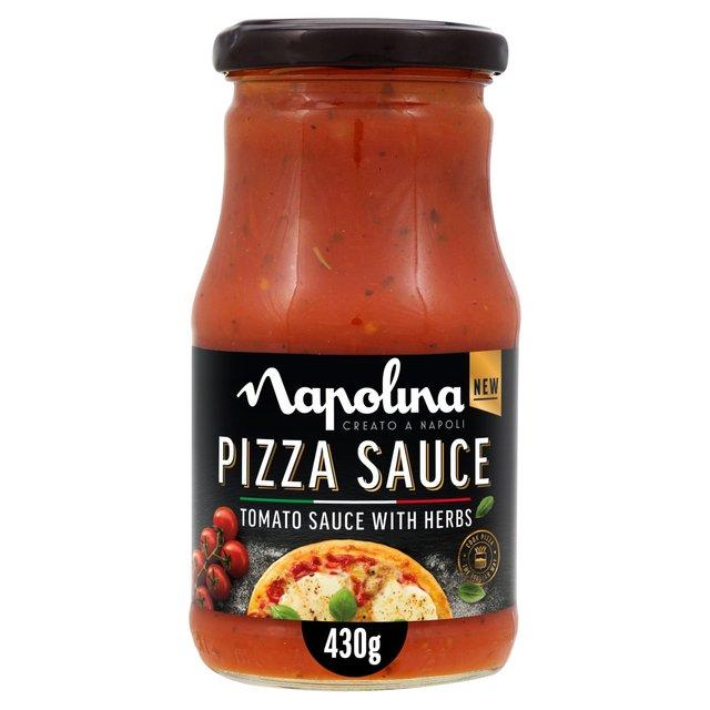 Napolina Tomato Herb Pizza Topping Ocado
