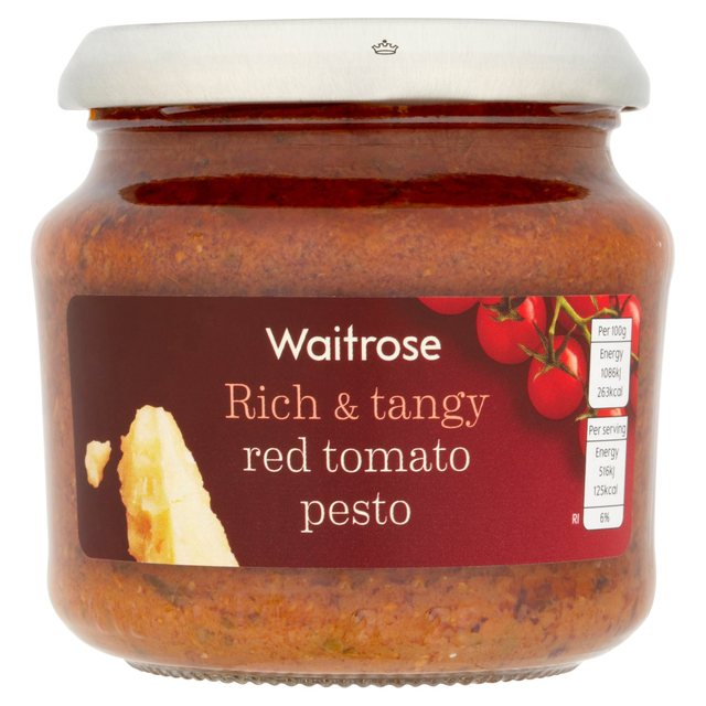 Waitrose Red Tomato Pesto 190g from Ocado
