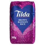Tilda Brown Basmati Rice 500g