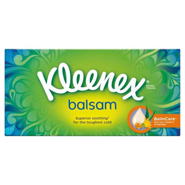 176 Tissues Total Pack of 4 Kleenex Mansize Tissues Compact