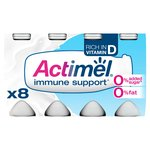 Actimel 0% Fat Original Drinking Yogurts