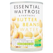 Essential Waitrose Butter Beans