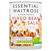 Essential Waitrose Mixed Bean Salad