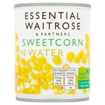 Essential Waitrose Crisp & Sweet Sweetcorn