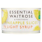 Essential Waitrose Pineapple Slices in Syrup