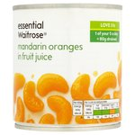 Essential Waitrose Mandarin Oranges in Fruit Juice
