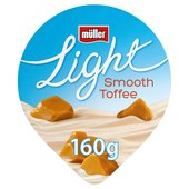 Muller Light Smooth Toffee Yoghurt