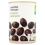 Essential Waitrose Whole Prunes in Fruit Juice