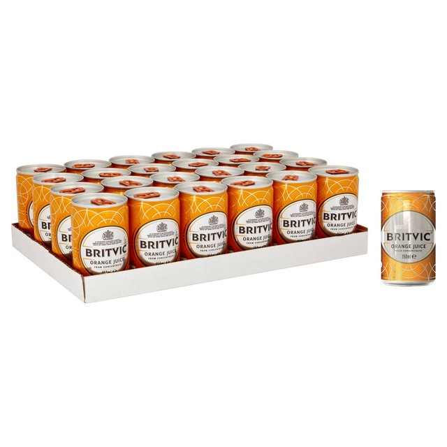 Britvic Orange Juice Mini Cans