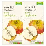 Essential Waitrose Pure Apple Juice