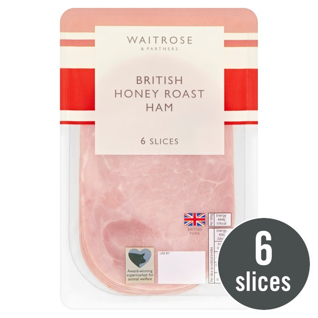 British Honey Roast Ham Waitrose