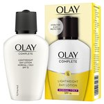 Olay Essentials Complete Care Moisturiser Daily UV Fluid SPF 15