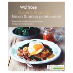 Waitrose Bacon & Onion Potato Saute