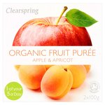 Clearspring Organic Apple & Apricot Dessert