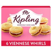 Mr Kipling Viennese Whirls