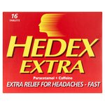 Hedex Extra 500mg Paracetamol & Caffeine Tablets