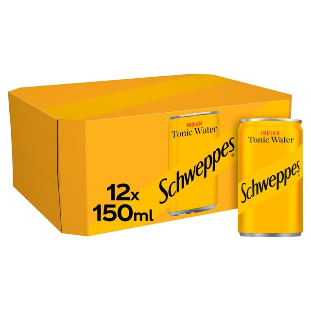 Schweppes Indian Tonic Water Mini Cans