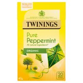 Twinings Organic Peppermint Tea Bags