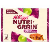 Kellogg's Nutri-Grain Elevenses Bars Raisin Bakes