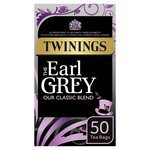Twinings Earl Grey Tea, 50 Tea Bags