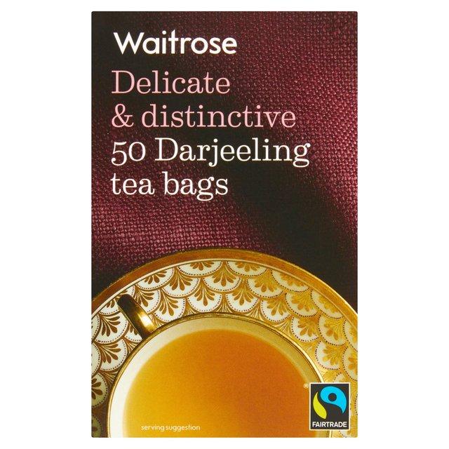 Waitrose Darjeeling Tea Bags Ocado