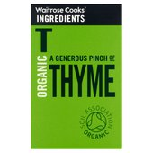 Cooks' Ingredients Organic Thyme