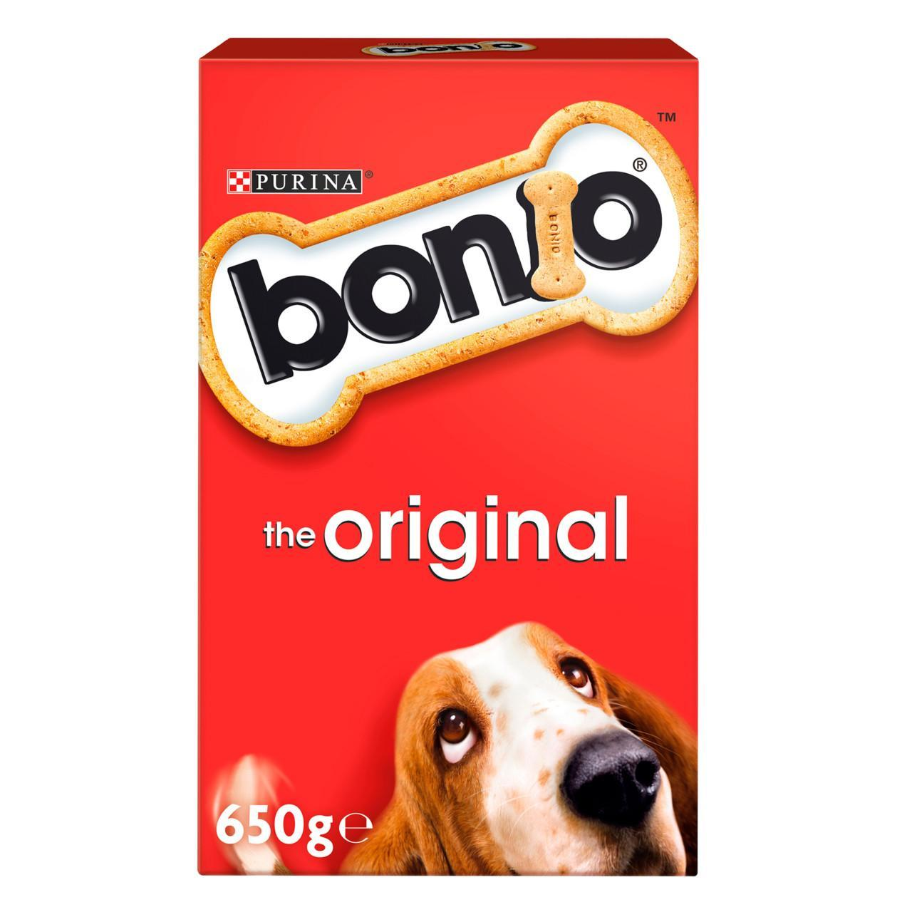 An image of Bonio Dog Biscuit The Original