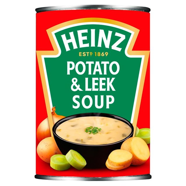 Heinz Thick Potato & Leek Soup
