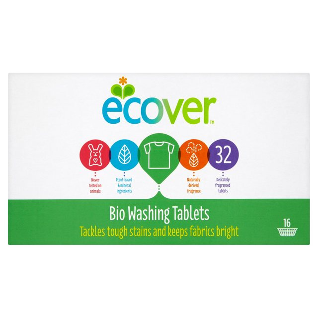 Ecover Biological Washing Tablets