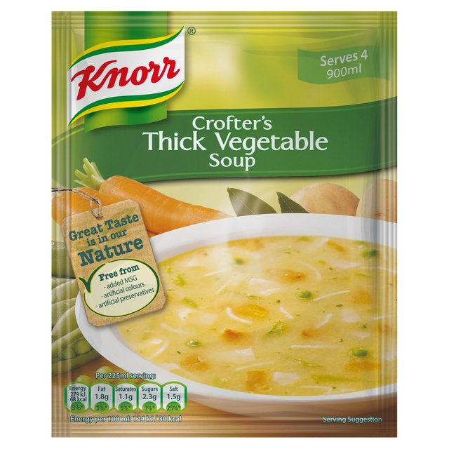 Knorr Crofters' Thick Vegetable Soup 75g from Ocado