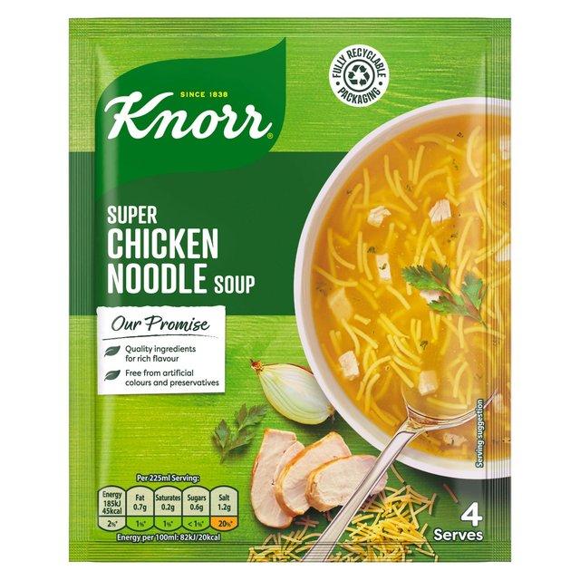 Knorr Super Chicken Noodle Soup   Ocado