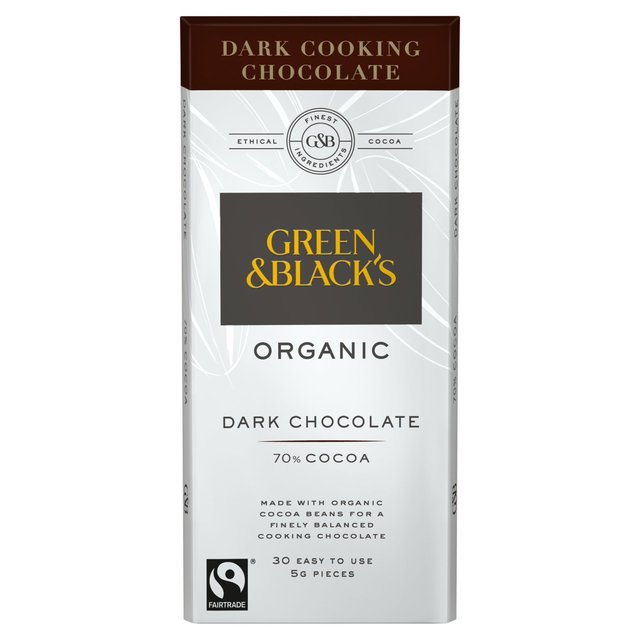 Green & Black's Organic Dark Cooking Chocolate