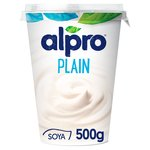 Alpro Big Pot Natural Yoghurt Alternative