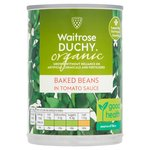 Waitrose Duchy Organic Baked Beans in Tomato Sauce