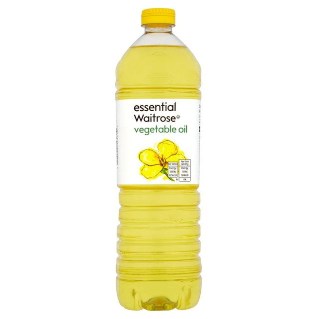 Vegetable Oil essential Waitrose