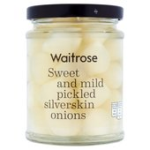 Waitrose Pickled Silverskin Onions