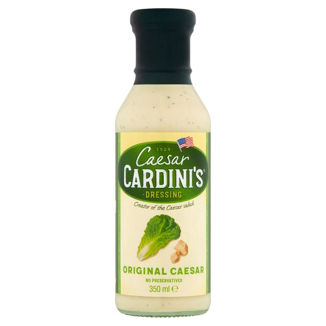 ocado cardini 39 s original caesar dressing 350ml product information. Black Bedroom Furniture Sets. Home Design Ideas