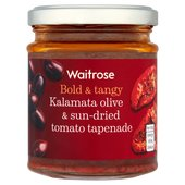 Tapenade Sundried Tomato & Olives Waitrose
