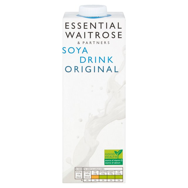 Longlife Sweetened Soya Milk Alternative Waitrose