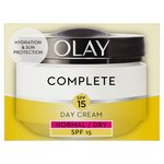 Olay Essentials Complete Care Moisturiser Daily UV Cream SPF 15