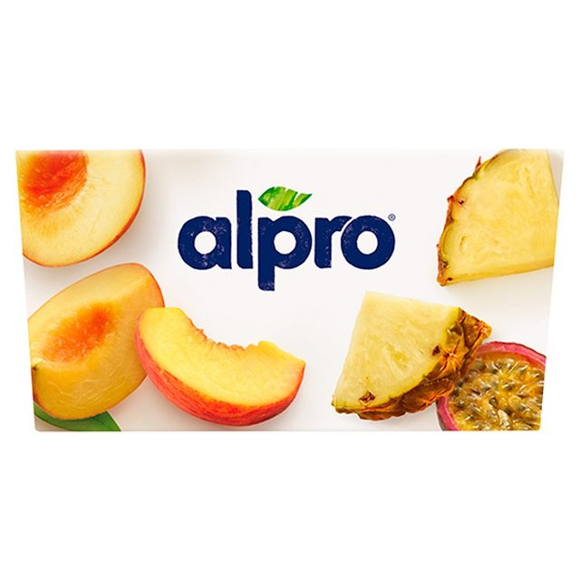 ... Alpro Peach & Pineapple Passion Fruit Yoghurt Alternative ...